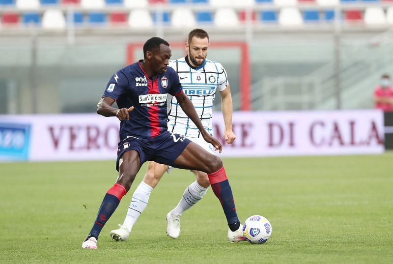 FC Crotone forward Simy Nwankwo