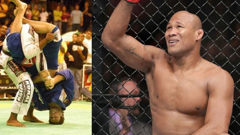 Jacare Souza broke his arm in a BJJ match in 2004