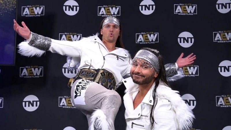 The Young Bucks have been phenomenal as heels!