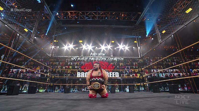 NXT North American Champion Bronson Reed