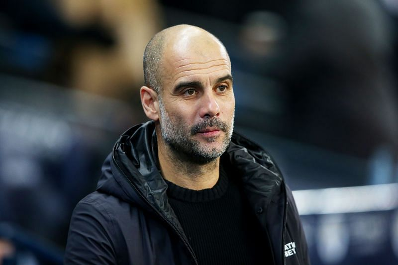 Pep Guardiola is one game away from once again lifting the UEFA Champions League trophy