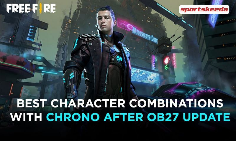 The three best character combinations with Chrono in Free Fire