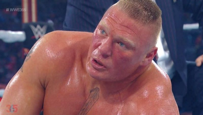 """""""I just didn't expect it to happen in that fashion""""- Former WWE Champion on beating Brock Lesnar"""