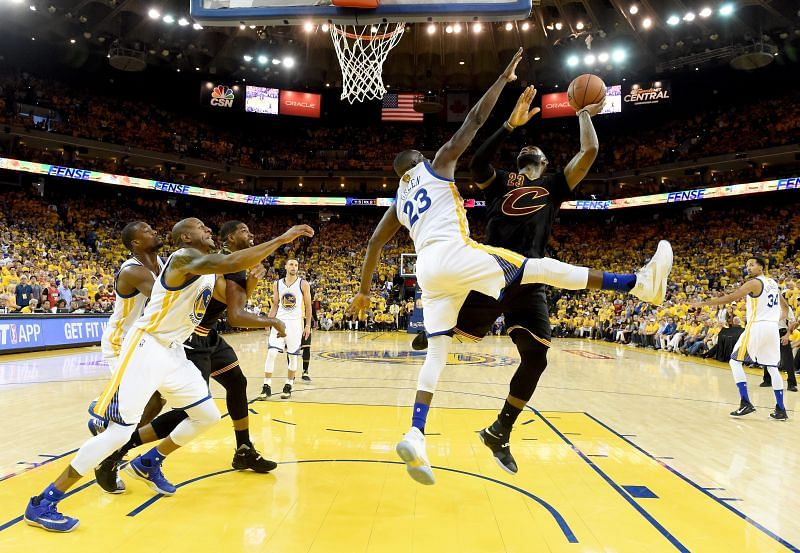 Flagrant fouls played a huge role in the 2016 NBA Finals, Cleveland Cavaliers vs. Golden State Warriors