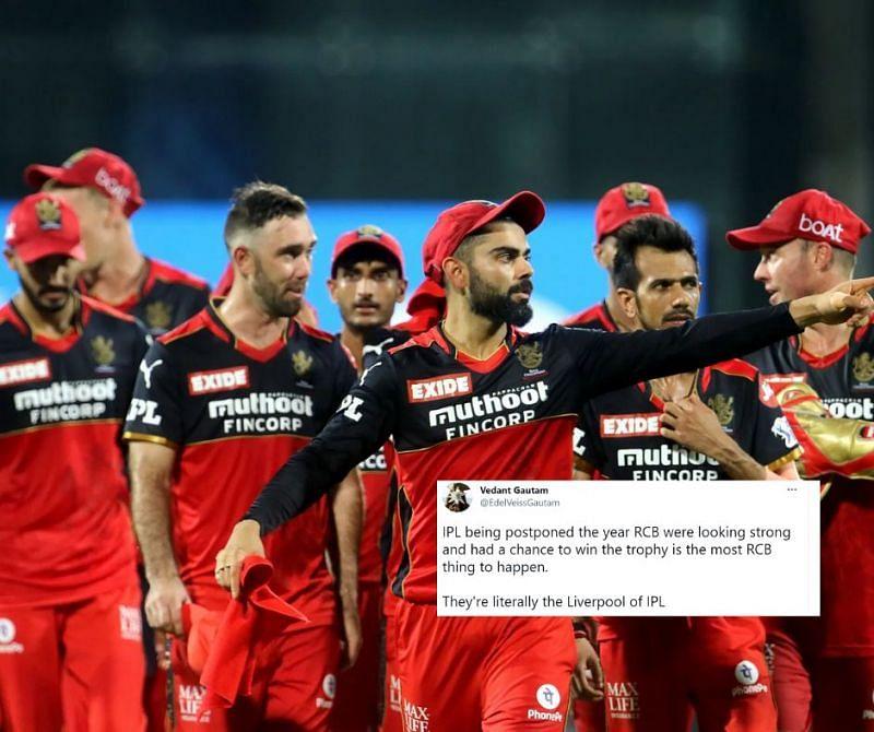 RCB were dealt the short rope with IPL 2021 postponement