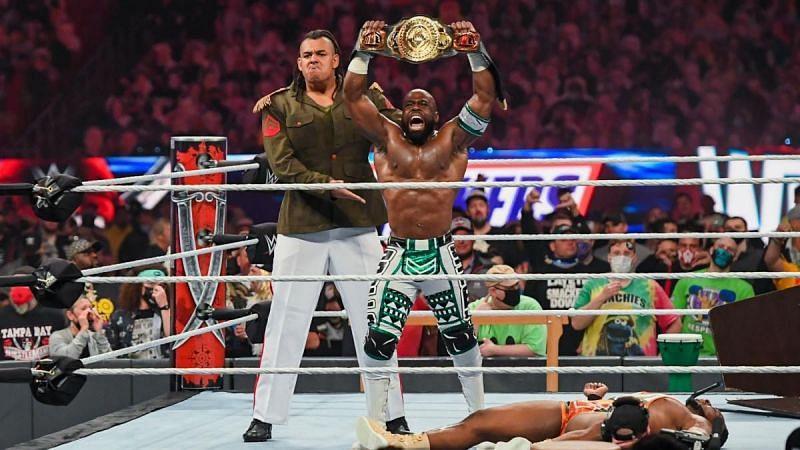 Commander Azeez helped Apollo Crews defeat Big E at WrestleMania 37