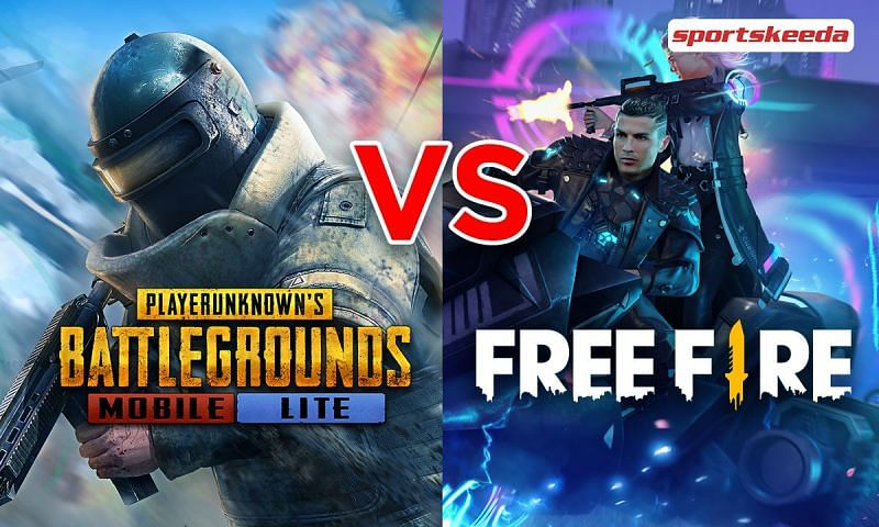 Comparing PUBG Mobile Lite and Free Fire to see which is better for 2 GB RAM devices in May 2021
