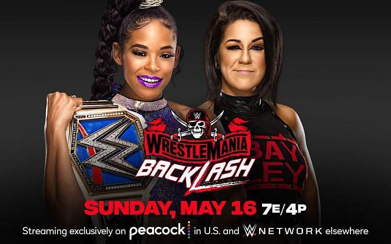 Bianca Belair and Bayley face off this Sunday at WrestleMania Backlash