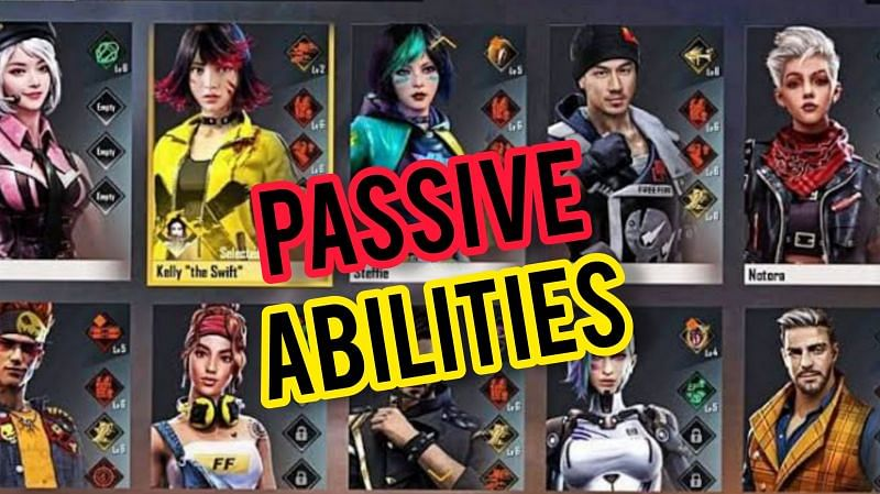 The best passive ability characters in Free Fire as of May 2021