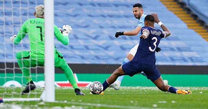Manchester City rode on Mahrez