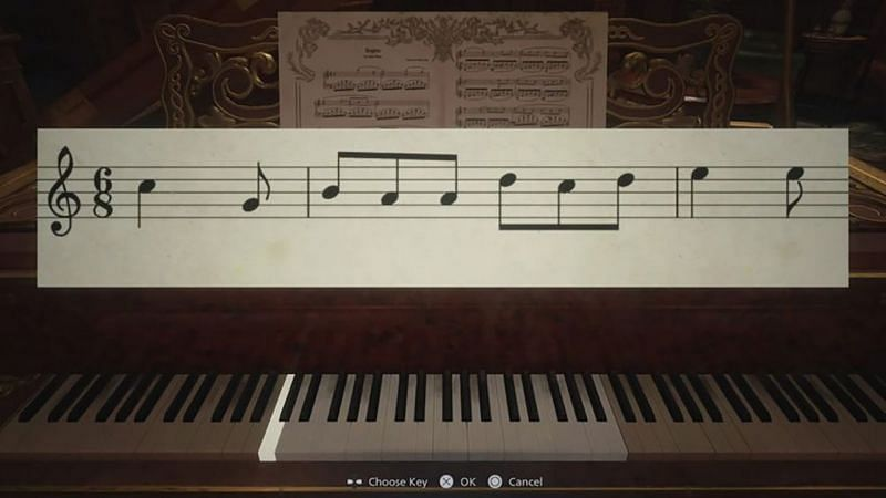 Resident Evil Village piano sheet music: How to solve the puzzle in the Opera Hall