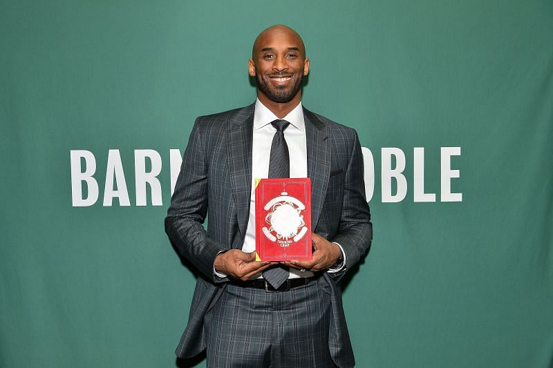 """Kobe Bryant promotes his book """"Training Camp (The Wizenard Series #1)"""" at Barnes & Noble."""