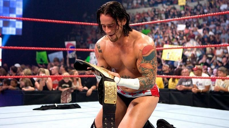 CM Punk captured the WWE World Heavyweight Championship courtesy of his Money in the Bank wins