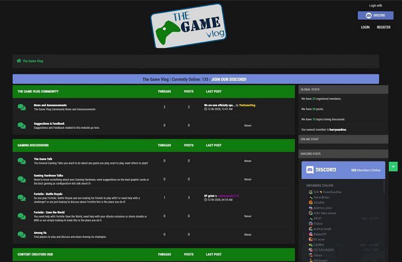 TheGameVlog - Fortnite India Discord (Image via TGV)