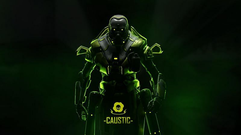 Caustic, the toxic Trapper of Apex Legends Image Credits: Reddit