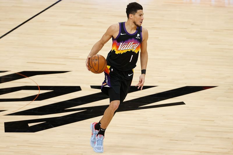 Devin Booker of the Phoenix Suns