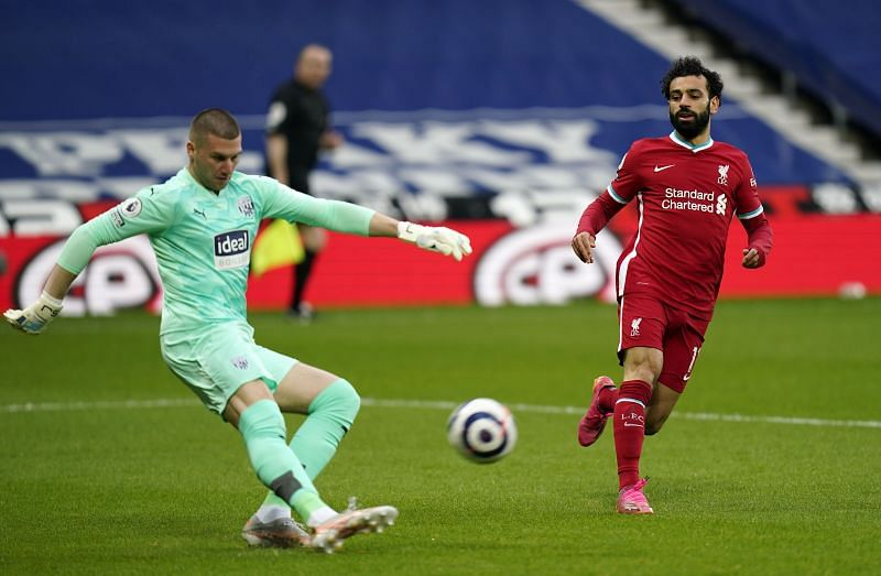 Mohamed Salah opened the scoring for the Reds with a well-taken finish.