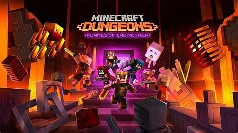 Flames of the Nether DLC (Image via Minecraft)