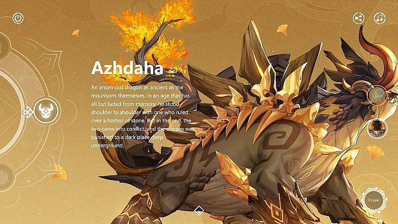 Azhdaha (image via Genshin Impact)