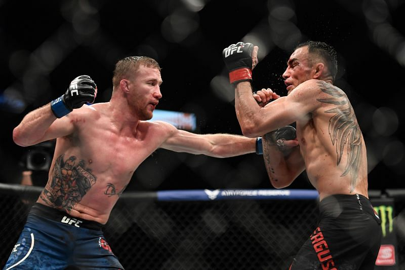 Justin Gaethje might be the trickiest stylistic match for Charles Oliveira in the UFC right now.