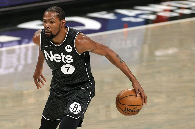 Kevin Durant #7 of the Brooklyn Nets.