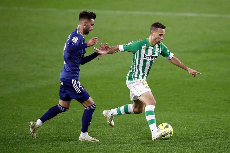 Real Betis take on Celta Vigo this weekend