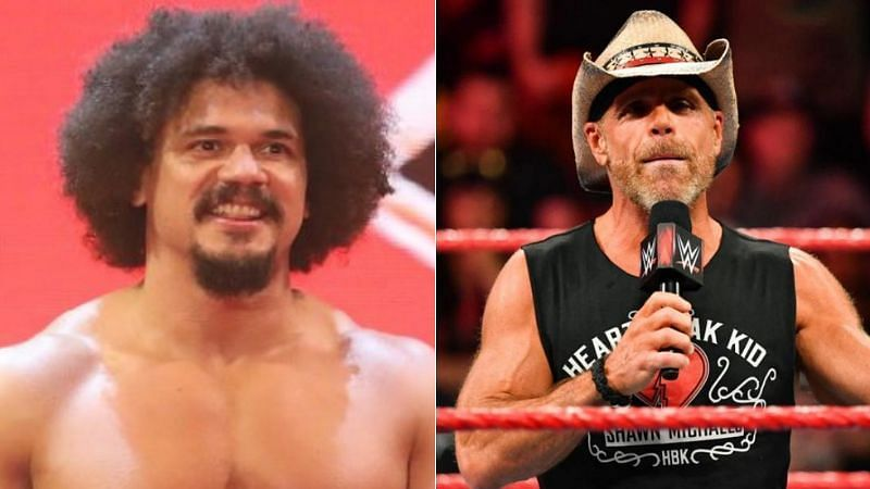 Carlito and Shawn Michaels