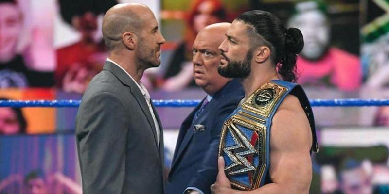 Roman Reigns sends final warning to Cesaro before Wrestlemania Backlash