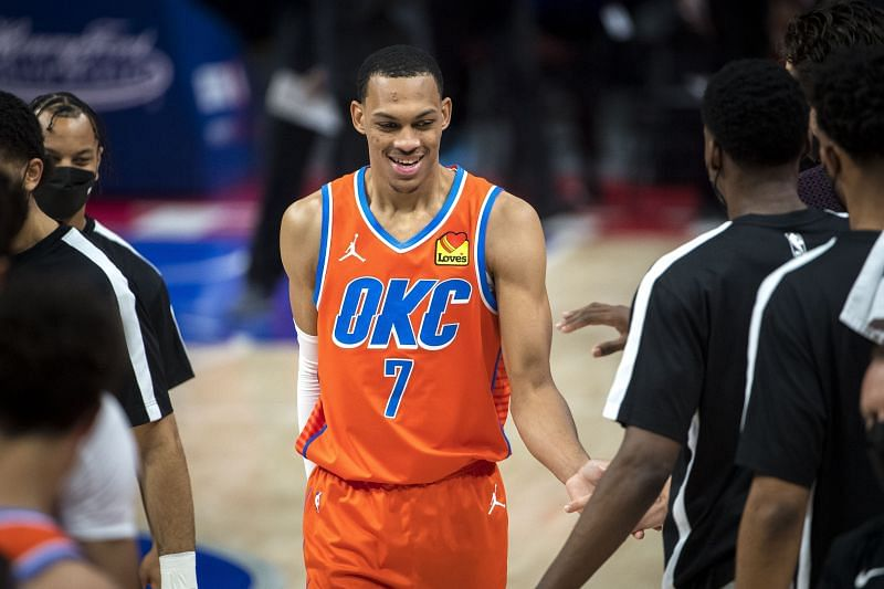 Darius Bazley of the OKC Thunder