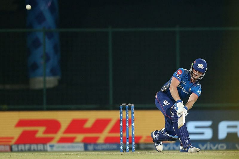 James Neesham could not open his account in his only inning for the Mumbai Indians (Image Courtesy: IPLT20.com)