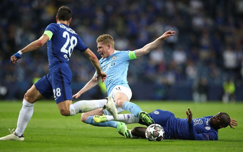 Kevin De Bruyne was injured in UEFA Champions League Final