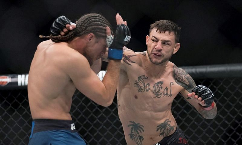Cub Swanson (right)
