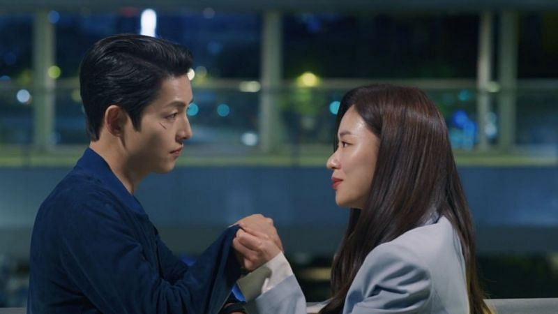 Song Joong Ki and Jeon Yeo Bin in