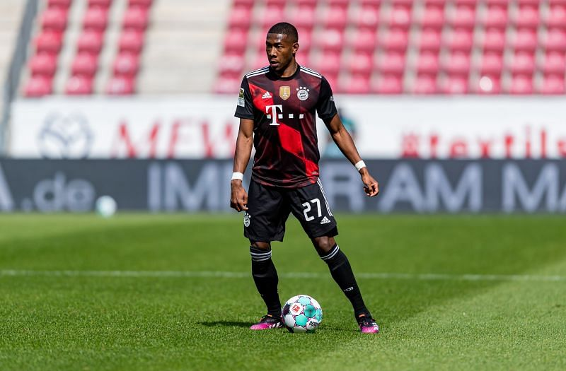 David Alaba is set to leave Bayern Munich in the summer