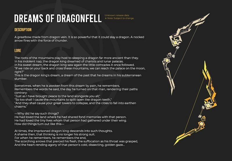 The Dreams of Dragonfell is found in her code (Image via Genshin Impact Leaks Reddit)