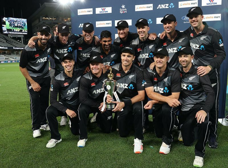 The New Zealand team