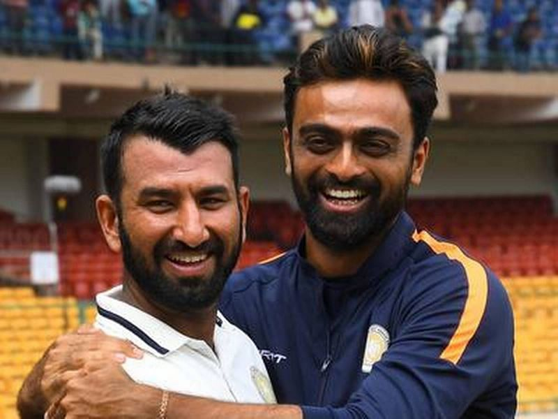 Cheteshwar Pujara and Jaydev Unadkat have shared a great camaraderie over the years