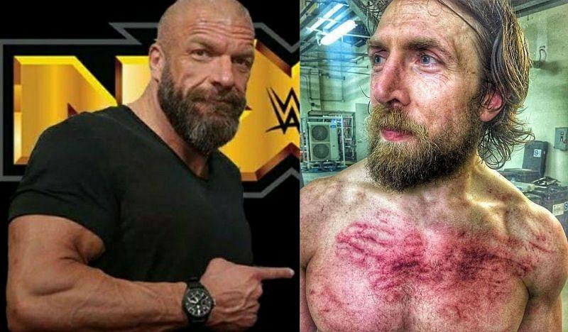 Triple H and Daniel Bryan