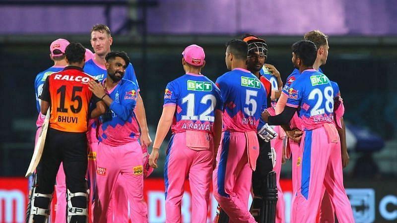 राजस्थान रॉयल्स vs सनराइजर्स हैदराबाद
