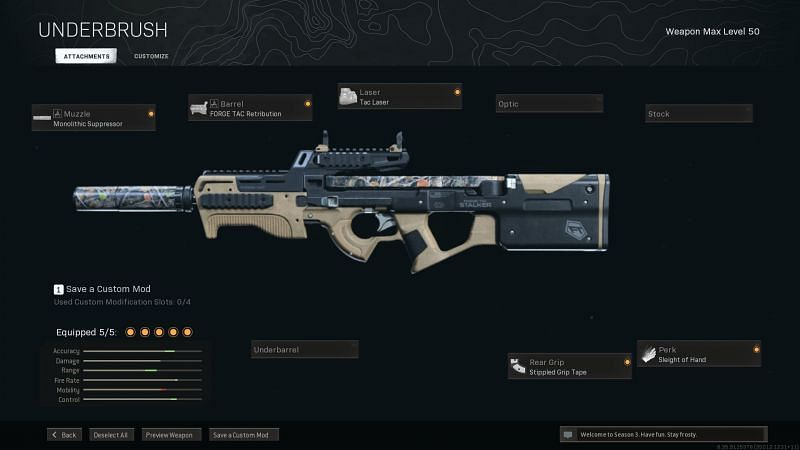 There are some aspects of the P90 that work really well in Warzone (Image Via Activision)