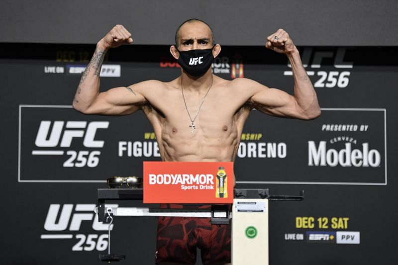 Tony Ferguson at the UFC 256 Weigh-Ins