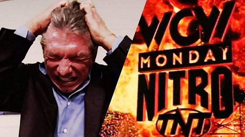 Vince McMahon went to war with WCW in the 1990s (Credit: WWE)