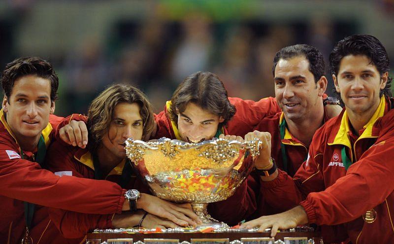 Spanish Davis Cup Team
