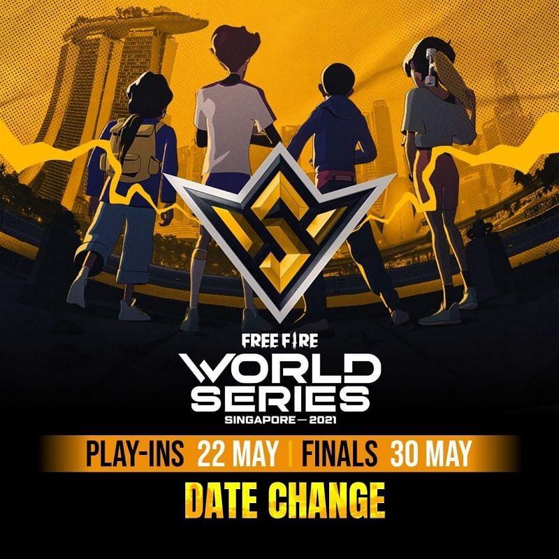 Free Fire World Series 2021 Singapore