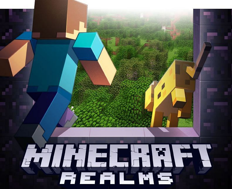 Shown: Another great advertisement for Minecraft Realms (Image via Mojang)