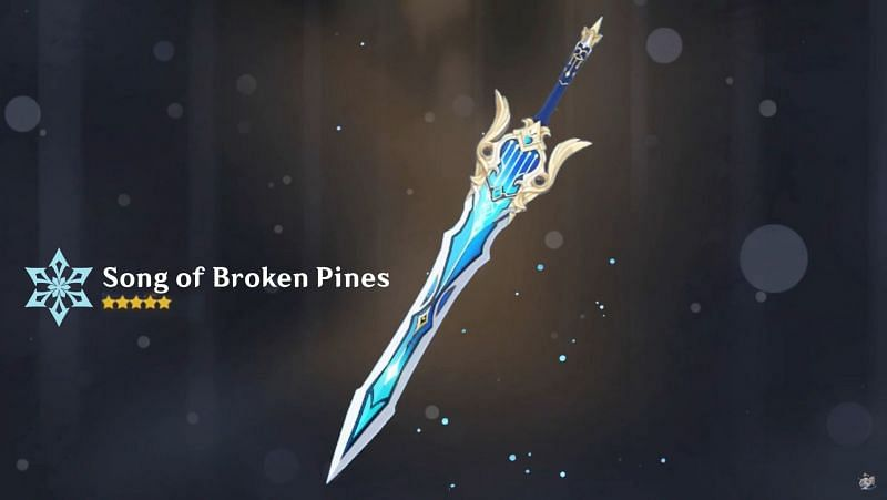 Song of Broken Pines in Genshin Impact: Stats, passive abilities, and suitable characters explained