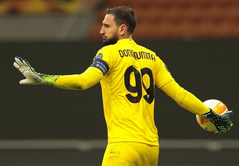 Gianluigi Donnarumma is set to leave AC Milan for free after a great season