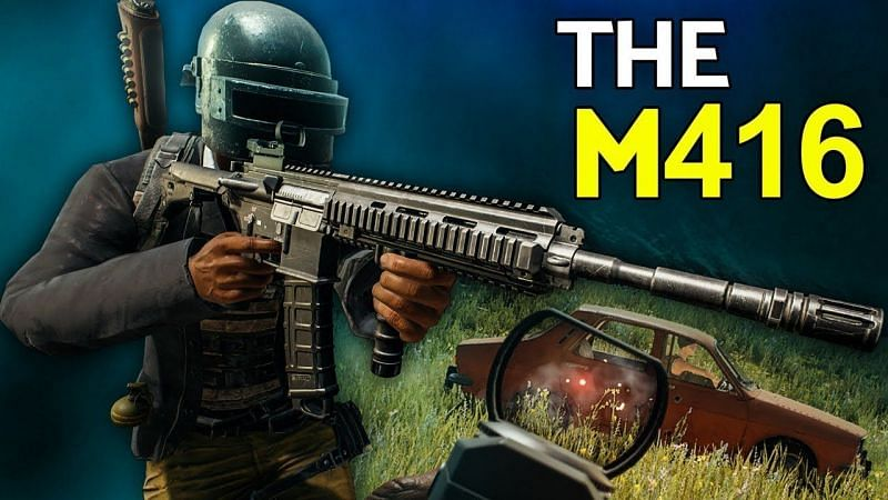 With proper attachments, the M416 can perform wonders (Image via Liddy, YouTube)