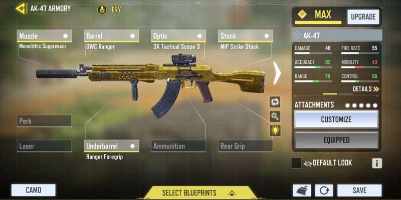 Mid-range - Defensive (Image via Activision)