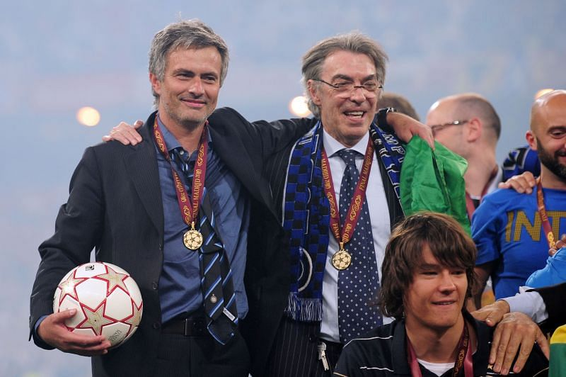 Mourinho won a treble with Inter Milan in 2010. (Photo by Shaun Botterill/Getty Images)